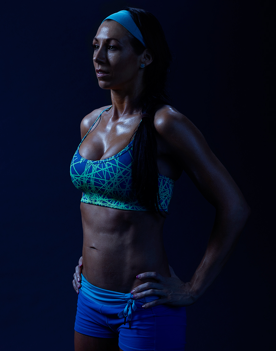 portrait of crossfit athlete by Brian Kaldorf