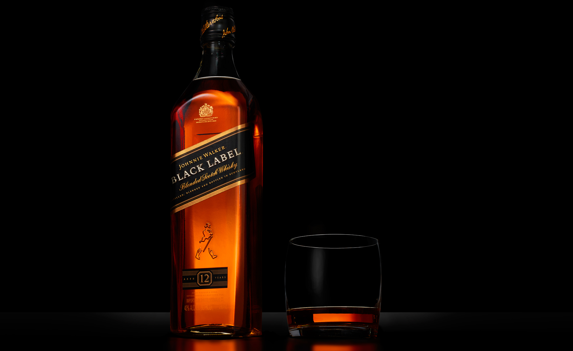 beverage photo of Johnnie Walker Black Label blended scotch whiskey by brian kaldorf