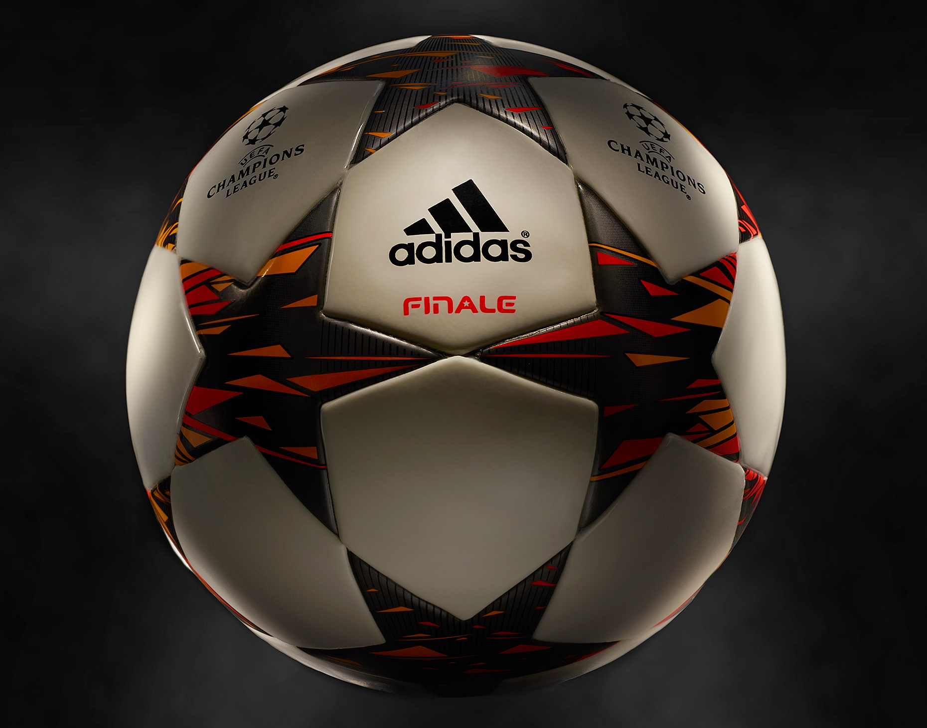 product photo of adidas finale 14 official champions league match soccer ball by brian kaldorf