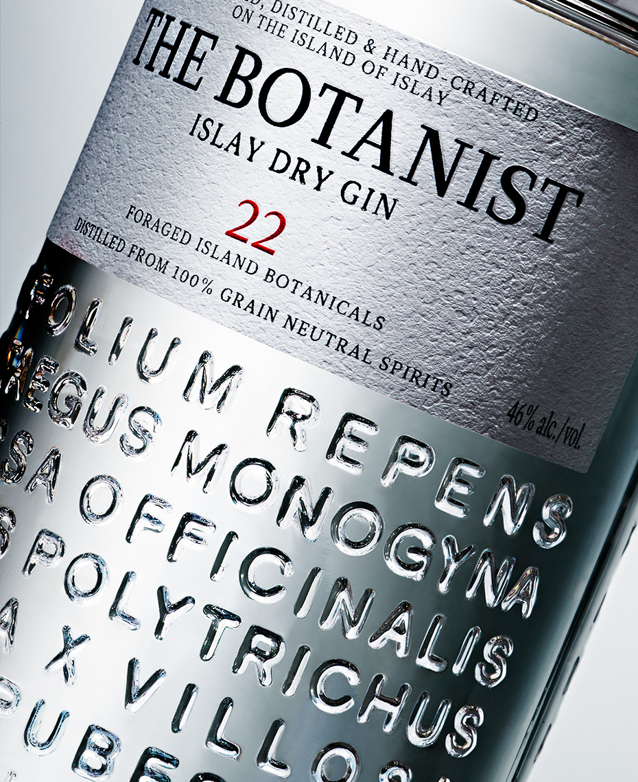 beverage photo of the-botanist-gin by brian kaldorf
